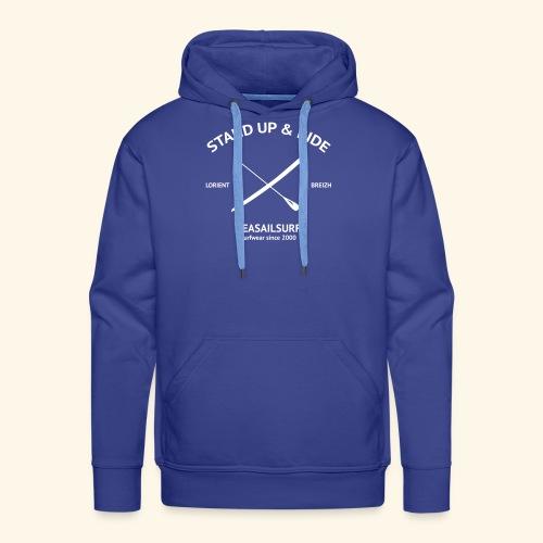 SweatShirt capuche Stand-Up - Sweat-shirt à capuche Premium pour hommes