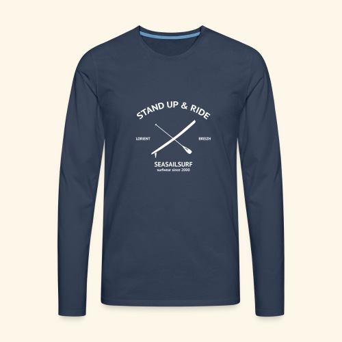Tshirt ML Stand-Up - T-shirt manches longues Premium Homme