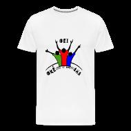 T-shirts ~ Mannen Premium T-shirt ~ Oei-Aha-Oke T-shirt