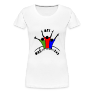 T-shirts ~ Vrouwen Premium T-shirt ~ Oei-Aha-Oke T-shirt