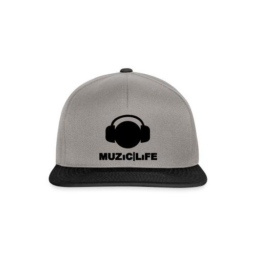 ML Phoneboy | Snapback - Grey/Black - Snapback cap