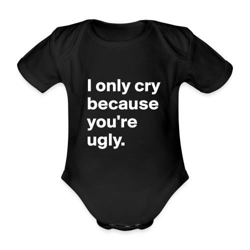 Evil Baby - Organic Short-sleeved Baby Bodysuit