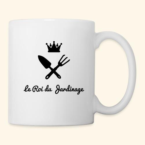 le roi du jardinage - Mug blanc