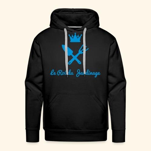le roi du jardinage - Sweat-shirt à capuche Premium pour hommes