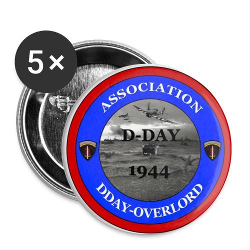 Badge association DDay-Overlord - Badge moyen 32 mm