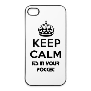 Keep Calm iPhone 4/4s Cover - iPhone 4/4s Hard Case
