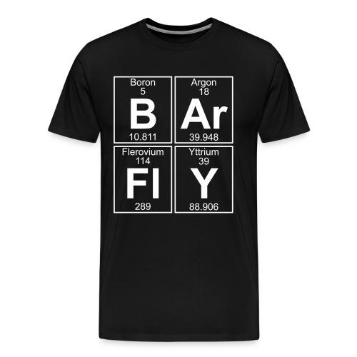 B-Ar-Fl-Y (barfly) - Full - Men's Premium T-Shirt