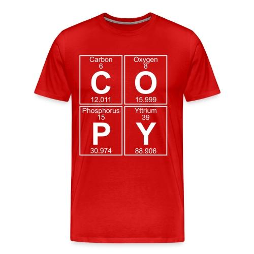 C-O-P-Y (copy) - Full - Men's Premium T-Shirt