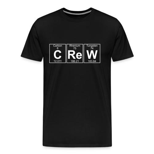 C-Re-W (crew) - Full - Men's Premium T-Shirt