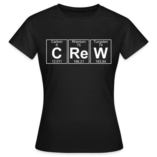C-Re-W (crew) - Full - Women's T-Shirt