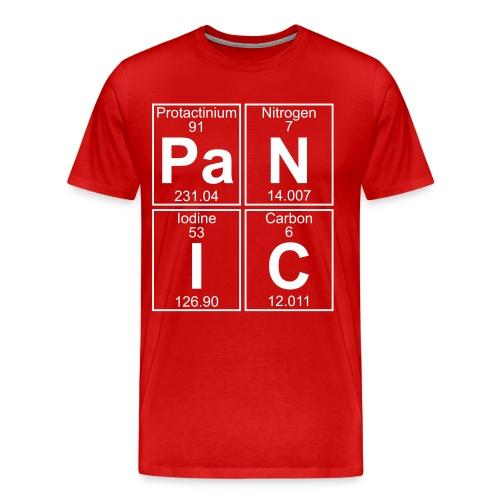 Pa-N-I-C (panic) - Full - Men's Premium T-Shirt