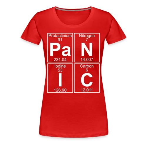 Pa-N-I-C (panic) - Full - Women's Premium T-Shirt