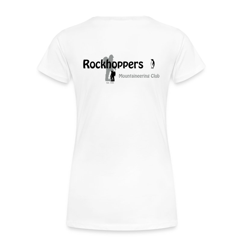 Women's Premium Back Logo T - Women's Premium T-Shirt