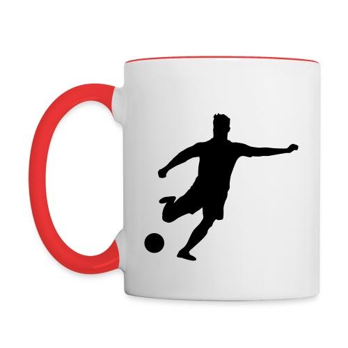 mug oficial soccer life - Taza en dos colores