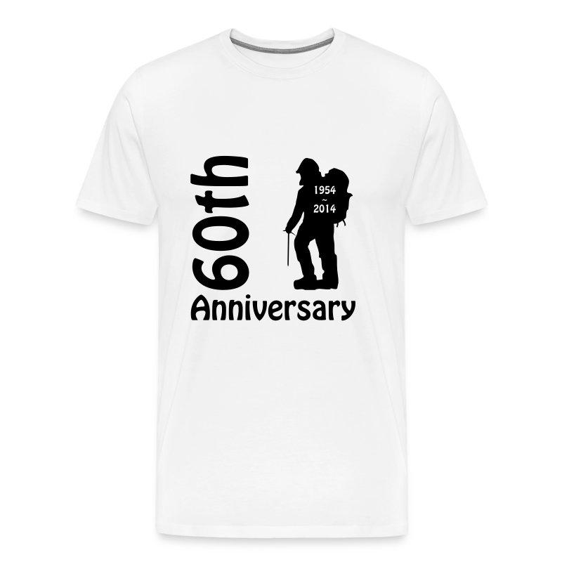 Men's Premium 60th Mountaineer T - Men's Premium T-Shirt