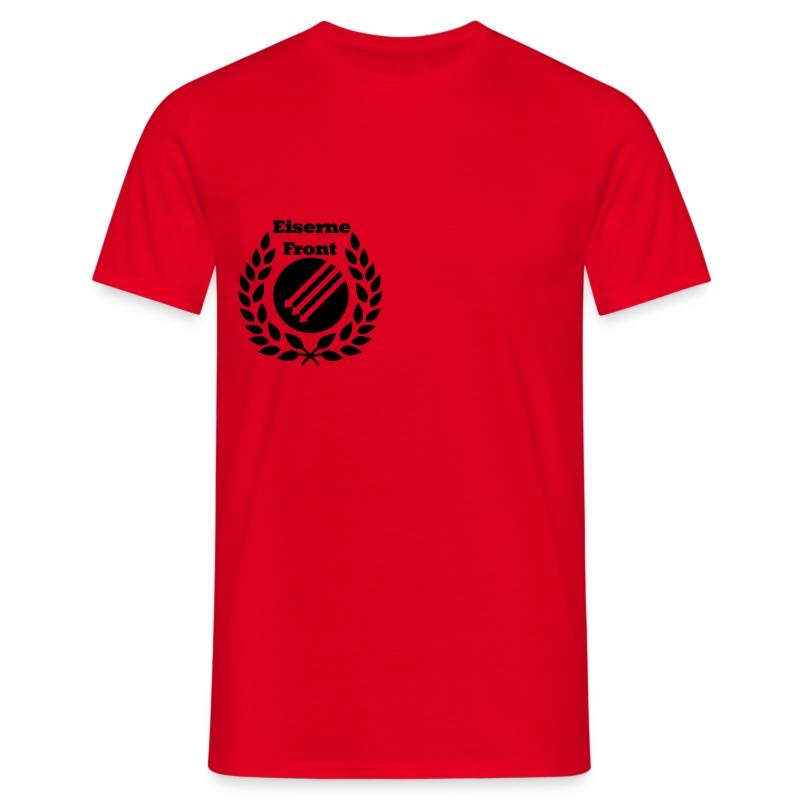 Eiserne Front Antifa Lorbeeren - Männer T-Shirt