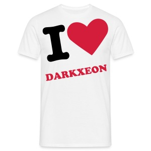 I love DarkXeon! - T-shirt Homme