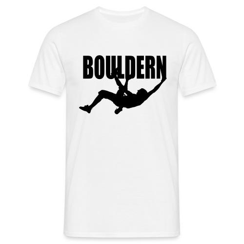 Bouldern - Männer T-Shirt