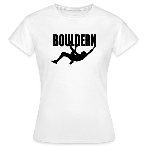 Bouldern - Frauen T-Shirt