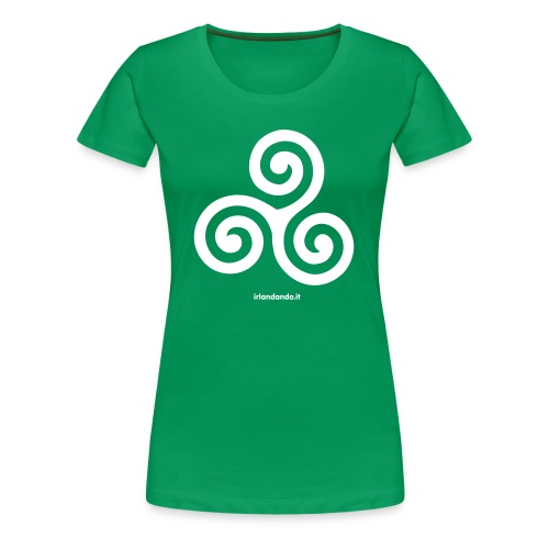 T-Shirt Triskell - Donna - Maglietta Premium da donna