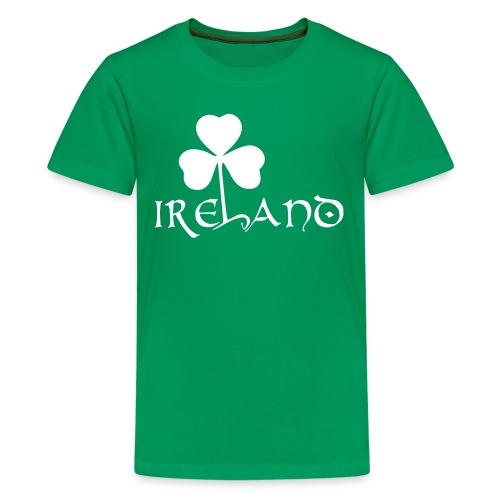 T-Shirt Ireland - Uomo - Maglietta Premium per ragazzi