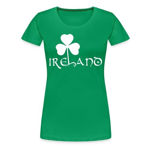 T-Shirt Ireland - Donna - Maglietta Premium da donna