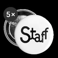 Botones y prendedores ~ Chapa grande 56 mm ~ Chapa Staff