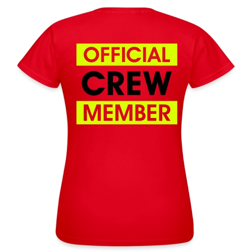 Shirt: Official Crew Member - Vrouwen T-shirt