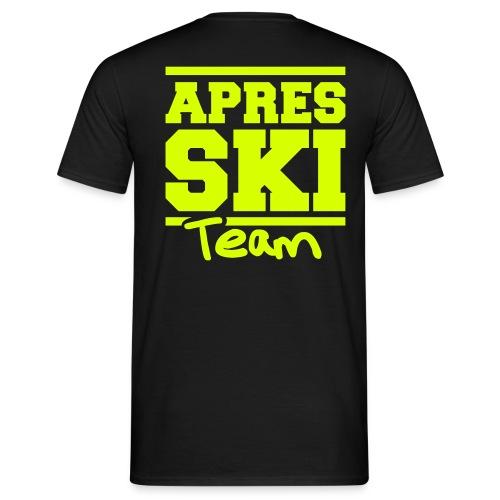 apres ski team - Mannen T-shirt