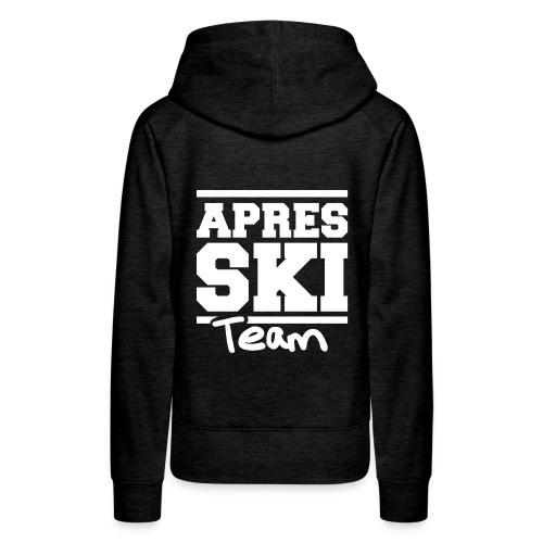 Apres ski team - Vrouwen Premium hoodie