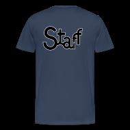 Camisetas ~ Camiseta premium hombre ~ Camiseta Staff chicos 2 caras