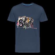 Camisetas ~ Camiseta premium hombre ~ Camiseta Staff chicos