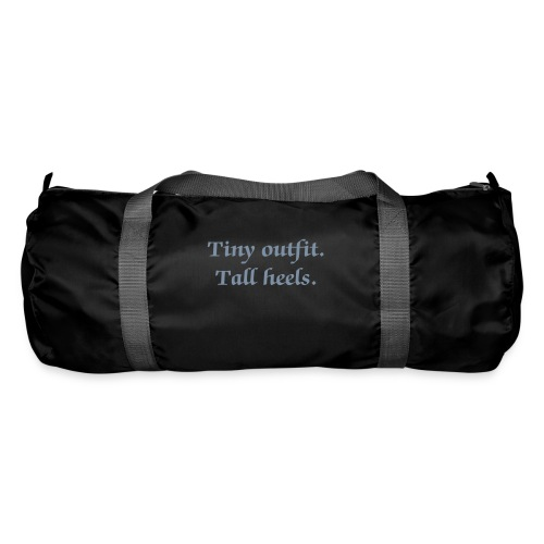 Tiny Outfit. Tall Heels Pole Dancers Kit Bag - Duffel Bag
