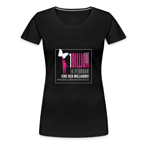 One Billion Rising shirt eine der Milliarde - Frauen Premium T-Shirt
