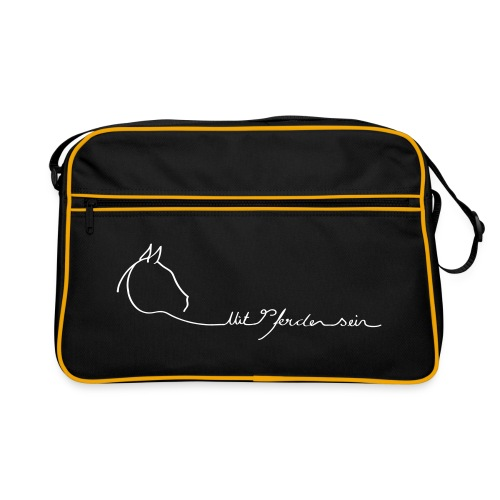 MPS Logo - retro bag - Retro Tasche