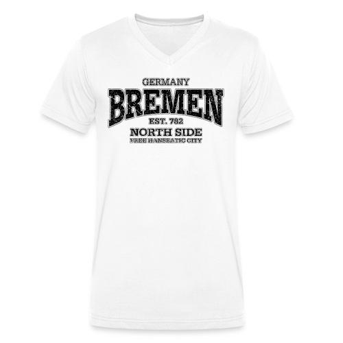 V Shirt Germany/ Bremen  - Männer Bio-T-Shirt mit V-Ausschnitt von Stanley & Stella