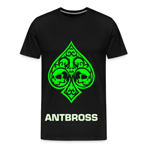 AntBross Ace of Spades - Men's Premium T-Shirt