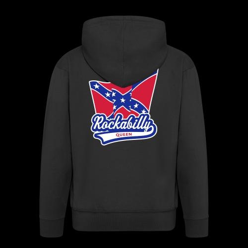 Rockabilly Queen - Männer Premium Kapuzenjacke