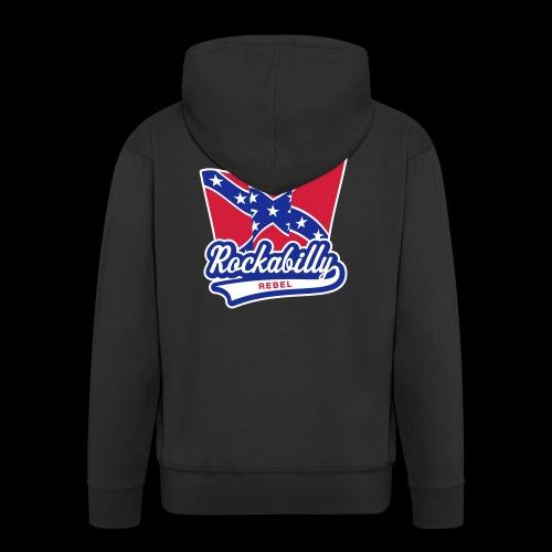 Rockabilly Rebel - Männer Premium Kapuzenjacke