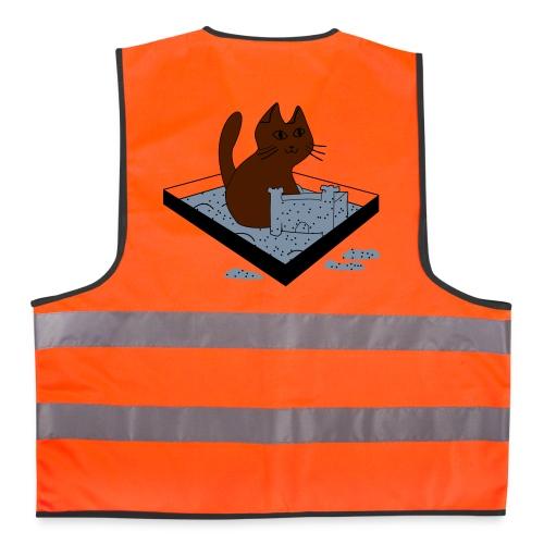 Bauarbeiter Cät - Warnweste