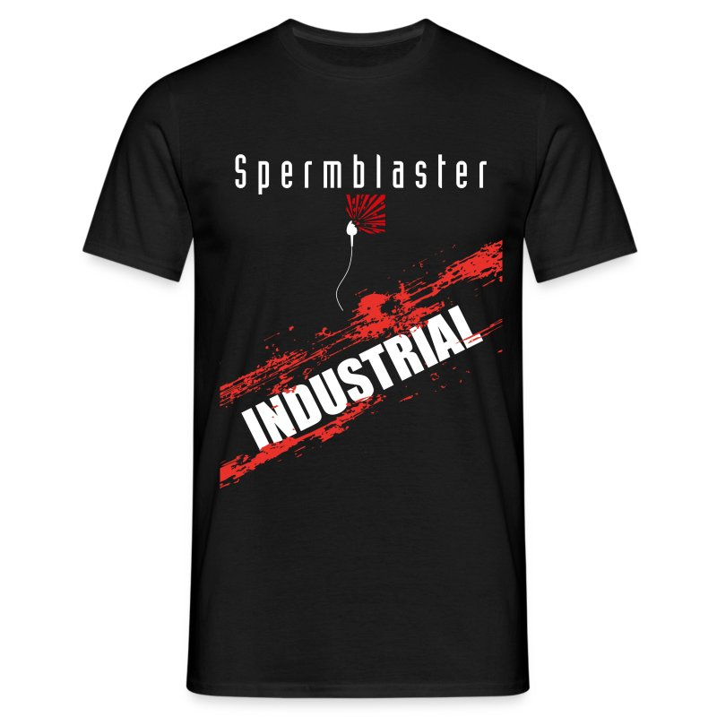 Spermblaster industrial - Men's T-Shirt