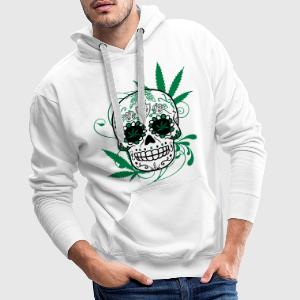 Sweat Big skull cana - Sweat-shirt à capuche Premium pour hommes