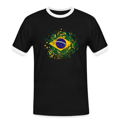 T-Shirt Bresil - T-shirt contrasté Homme