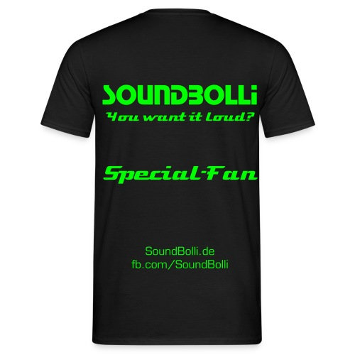T-Shirt Special-Fan Edition - Männer T-Shirt