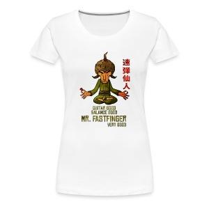 Mr. Fastfinger good premium ladies - Women's Premium T-Shirt