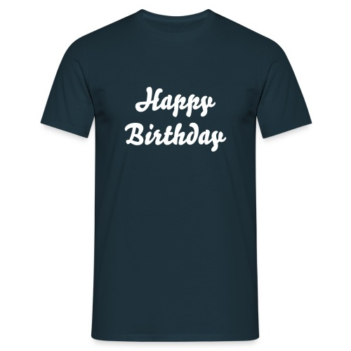 Birhday T-Shirt - Men's T-Shirt