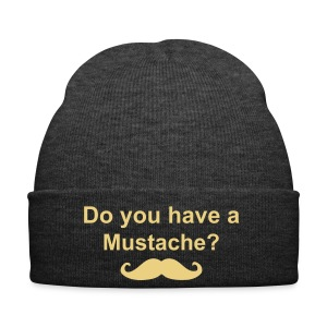 Mustache Bonnet! - Winter Hat