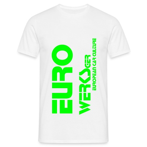 Gents Eurowerks Neon Green - Men's T-Shirt