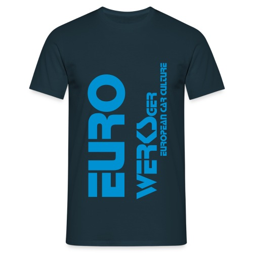 Gents Eurowerks Lazer Blue - Men's T-Shirt
