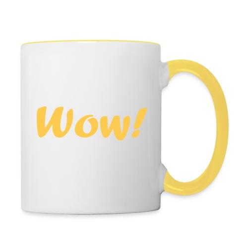 Wow! Mug  - Contrasting Mug